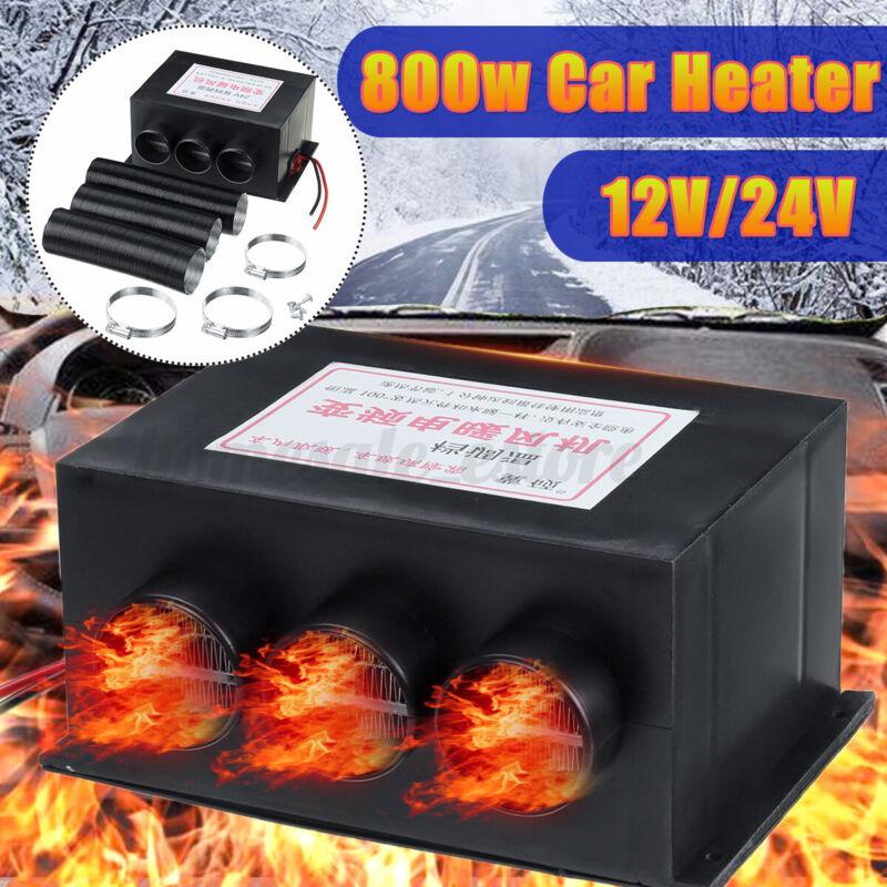 Universal 12V/24V 800W Heater Fan Warmer Defroster Demister Windscreen Car