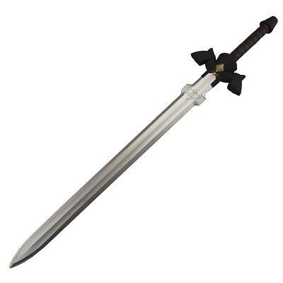 Links Master Schwert als Polsterwaffe aus Zelda für Kostüme Latexwaffe schwarz