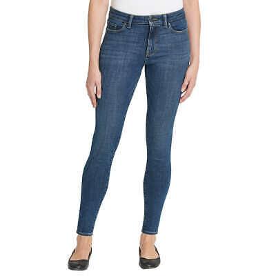 Calvin Klein Jeans Women's Contour Skinny Crop Jeans Dark Wash Size 10 NWT