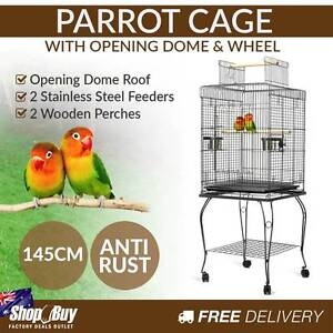 Brand New: New 145cm Bird Cage Canary Parrot Budgie Pet Aviary Baulkham Hills The Hills District Preview