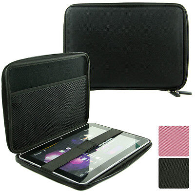 9.7 inch Tablet Slim Zipper Sleeve Folio Case Cover NLKX3