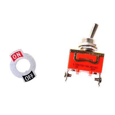 2-pin Toggle On-off Switch 15a 250v