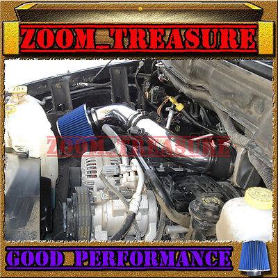 (BLACK BLUE 2003-2008 DODGE RAM 1500/2500/3500 5.7L V8 HEMI AIR INTAKE KIT S Type)