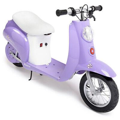 Razor Pocket Mod Betty Miniature Euro Electric Scooter Purple