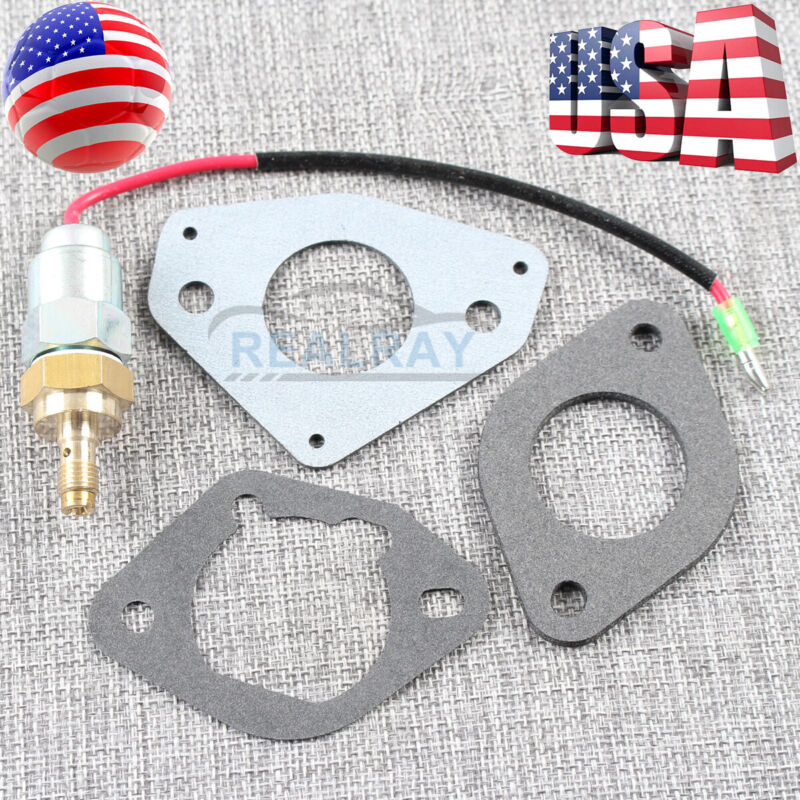 New Carb Fuel Solenoid Kit Gasket for Kohler Part # 24-757- 45S Command Courage
