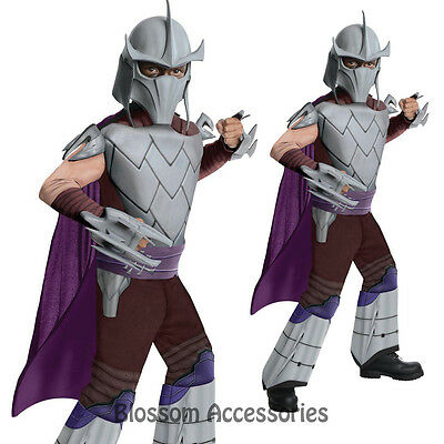 CK229 Teenage Mutant Ninja Turtle TMNT Deluxe Shredder Kids Boys Hero Costume