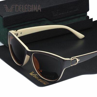 Polarized Sunglasses Women Dark Solar Shades UV400 Sunglasses With Box