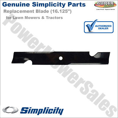 """Simplicity Snapper Briggs 16.13"""" Blade for Mowers & Tractors / 1737228BZYP"""