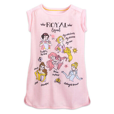 Disney Store Princess Nightshirt Nightgown Pajama Girl 2, 3, 4, 7/8, 9/10 Disney Store Princess Pj