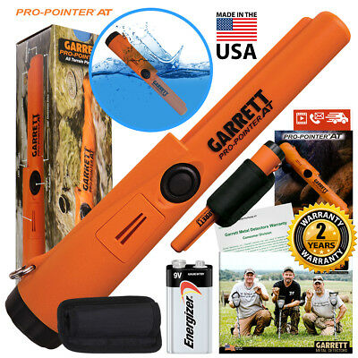 Garrett Propointer At Underwater Pinpointer With Holster Battery Included Nib