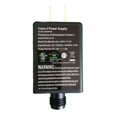 MTR-17130 Replacement 1.0a AC Adapter Inflatables Fan and Light Show - Inflatable Menorah