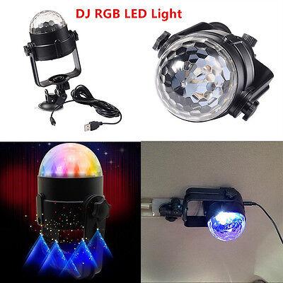 Car Disco DJ RGB LED Light Strobe Lighting Stage Party Bar Music Flash Active - Party America Cheyenne