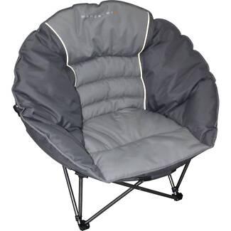 2 X Wanderer Half Moon Camp Chairs