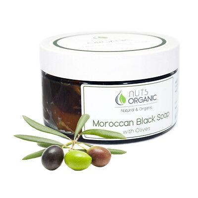Moroccan black soap with olives – traditional hammam - savon noir/beldi 220g