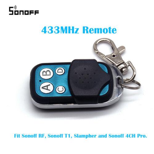 как выглядит Контроллер или регулятор для домашней автоматики Sonoff Wireless WIFI Remote Controller 433MHz RF Remote Controller DIY for Home фото
