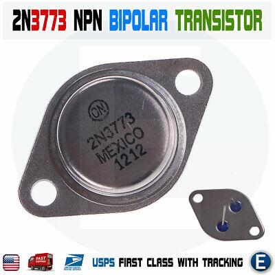 2n3773 Power Transistor Npn Bipolar Audio 16a 140v 150w To-3 Usa