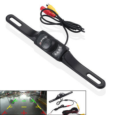 Car Rear View Reversing Camera - Car Rear View Backup Camera Parking Reverse Back Up Camera  Waterproof CMOS 7LED
