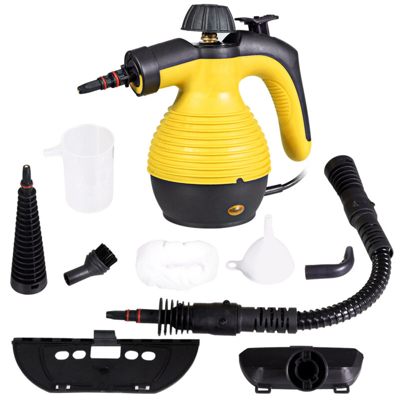 Multifunction Portable Steamer Household Steam Cleaner 1050W W/Attachments New