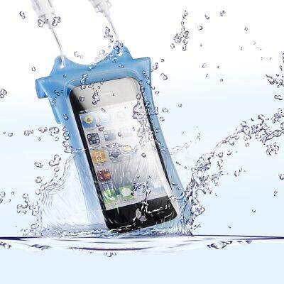 WP-i10 Unterwassertasche für MP3-Player Handy und iPhone 3G/4/4S & iPod - blau Ipod Iphone 3g Mp3