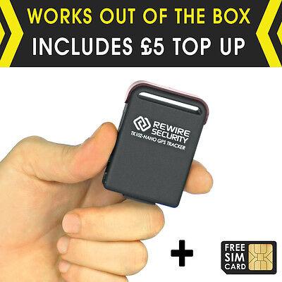 Mini Car Realtime GPS Vehicle Tracker GPS Spy Personal Tracking Device TK102-SIM