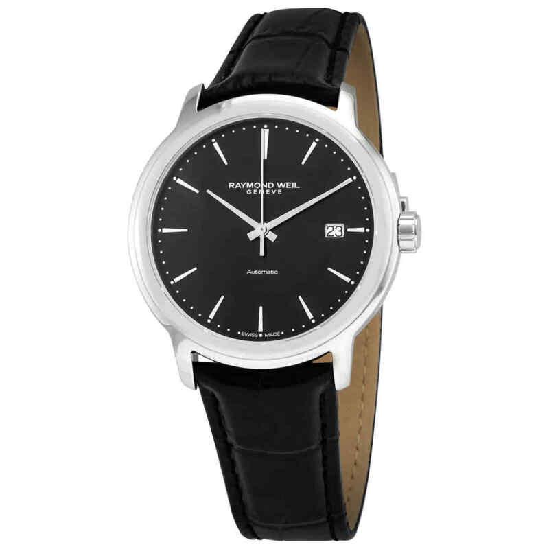 Raymond Weil Maestro Nior Index Automatic Black Dial Men Watch 2237-STC-20011