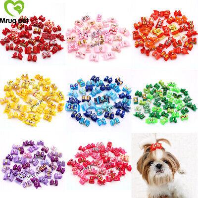Wholesale Hair Supplies (Choose 8 Colors Wholesale Pet Puppy Dog Hair Bows Dog Accessories Pet)