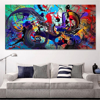 (Modern Abstract Canvas Print Art Oil Painting Wall Picture Home Decor Unframed)