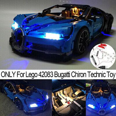 LED Light Lighting Set ONLY For LEGO 42083 Bugatti Chiron Buliding Blocks Toy