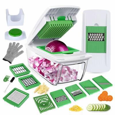 Mandolina de Cocina Cortador de Verduras Corte Profesional Cuchillas Acero Inox