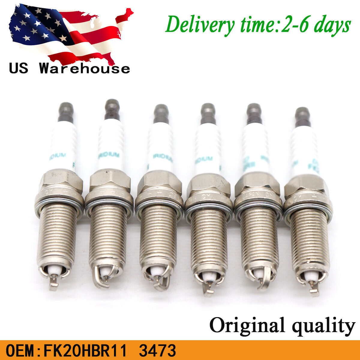 NEW Spark Plug Denso Iridium For Lexus GS300 GS450h IS F IS250 IS350 LS460 RC350