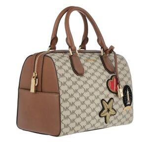 Michael Kors Studio Patches Mercer MD Duffle Bag S398   eBay b099fc52a7