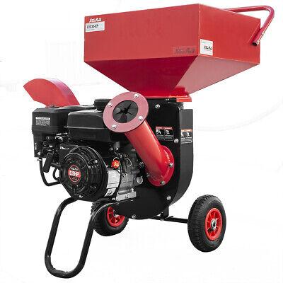 Photo XPUSA 6.5HP Heavy Duty 212cc Gas Powered 3:1 Pro Wood Chipper Shredder w/ Wheel