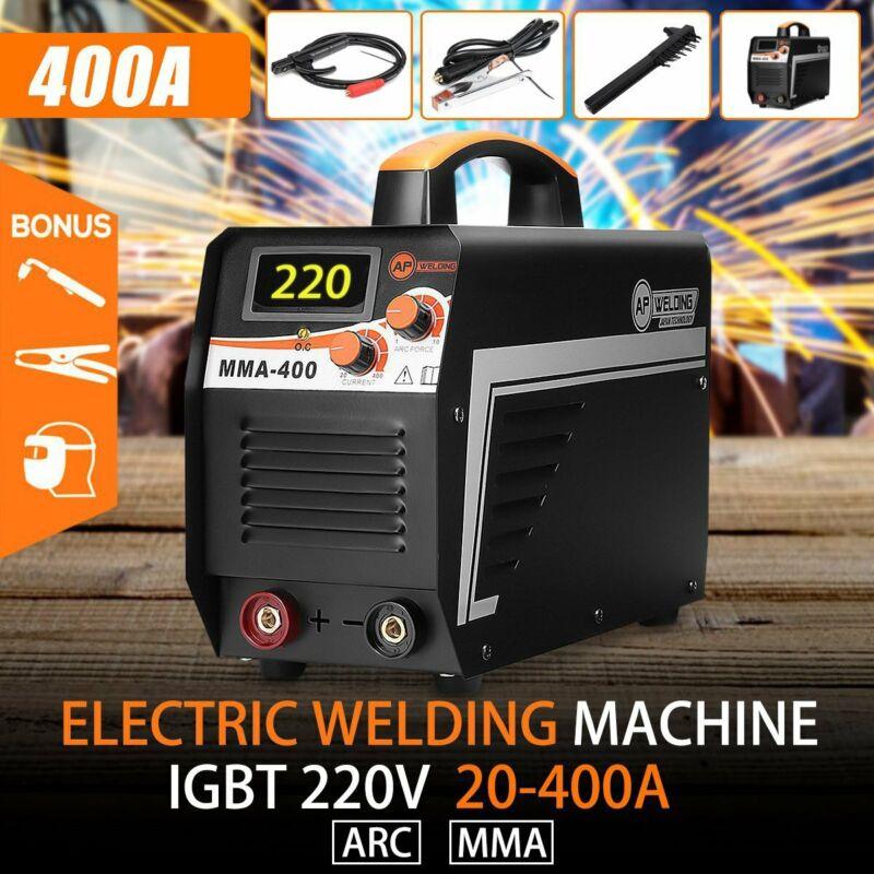 Digital MMA-400 ARC Stick Welder DC IGBT Inverter Welding Machine Set 20-400A