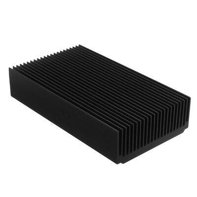 22 Tooth Black Oxide Aluminum Heat Sink Module Heat Radiation 120 X 69 X