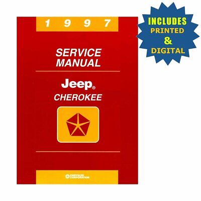 Bishko OEM Repair Maintenance Shop Manuals CD & Bound for Jeep Cherokee 1997