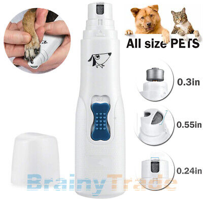 Grooming Trimmer - Electric Dog Cat Nail Grinder Trimmer Grooming Tool Clipper For all size PET