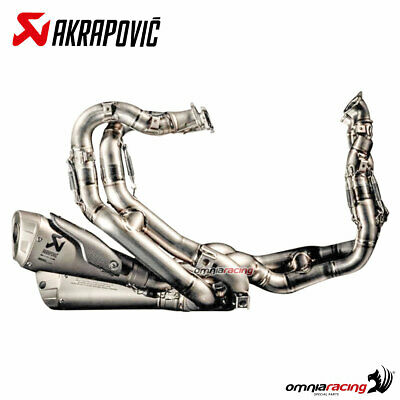 Akrapovic full exhaust system racing for Ducati Panigale V4 - V4S