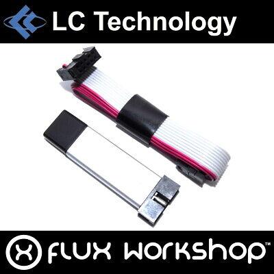 Lc Technology Usbasp Avr Programmeur Atmega 48 88 Tiny Isp 51 5v Flux Workshop