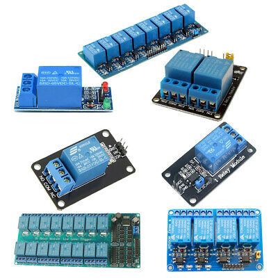 1 2 4 8 16 Channel Relay Module 5V Optocoupler LED for Arduino PiC ARM AVR New