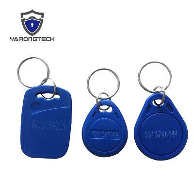 RFID Tag 125khz EM4100 TK4100 EM Marine ABS waterproof Keyfob -100pcs