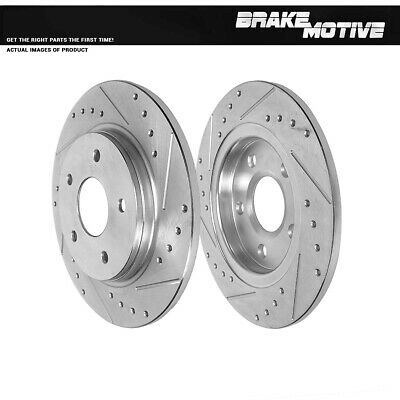 For 2009 2010 2011 - 2013 TOWN COUNTRY GRAND CARAVAN JOURNEY ROUTAN Rear Rotors