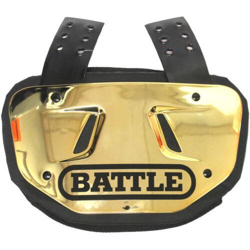 Battle Adult Chrome Football Back Plate