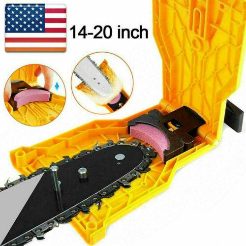 Chainsaw Teeth Sharpener Sharpens Chainsaw Saw Chain Sharpening System 14-20Inch
