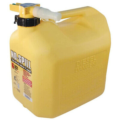 No-spill 1457 Poly Diesel Fuel Can With Rear-handle 5-gallon