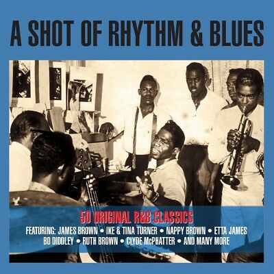 A Shot Of Rhythm & The Blues VARIOUS ARTISTS Best Of 50 Essential Songs NEW 2