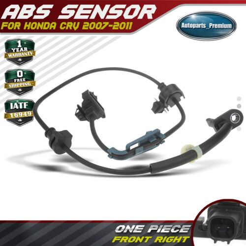 Front Left Driver Side ABS Wheel Speed Sensor for Honda CRV 2007-2011