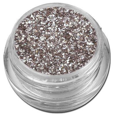 Muschelsplitter Crushed Shells Glitter Glitzer Braun Schoko Nail Art #00211-10