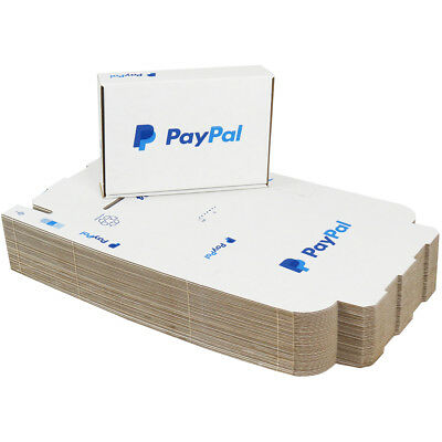 5 x PP4 PayPal Mailing Shipping Postal Cartons Boxes 218x152x42mm (8.5x6x1.5