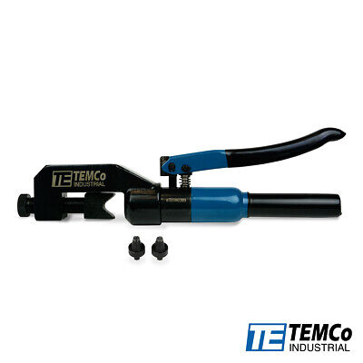 Temco Hydraulic Lug Crimper Tool Th1818 Dieless Indent 10awg To 400mcm