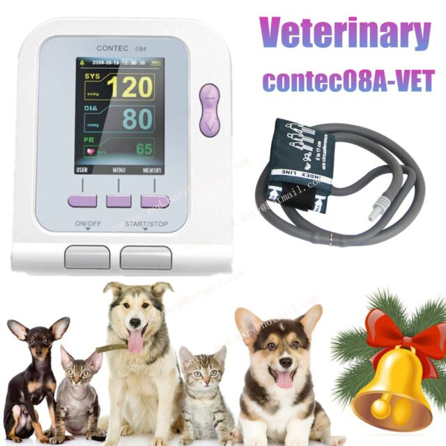 FDA CE Veterinary Blood Pressure Monitor CONTEC08A, 6-11cm NIBP CUFF, New